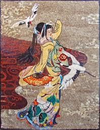 mosaic tile murals for sale details about geisha handmade mosaic