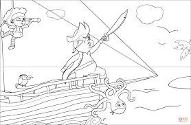 Pirate Scene Coloring Page Free Printable Pages Png 1500x982 Angry Mop Sheets