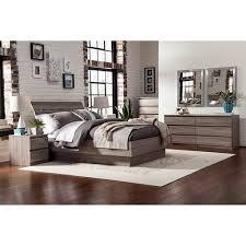 Laguna Queen Bed With Headboard Truffle Walmart