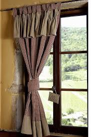 fensterdeko en landhaus gardinen für küche landhaus