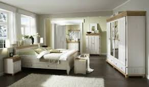 massivholz schlafzimmer set 6teilig komplett kiefer massiv