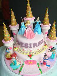 Princess Themed Fondant Cakes Fondant Cake