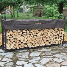 Outdoor Firewood Racks and Firewood Storage