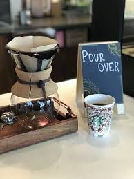 Pour Over Station For A Custom Freshly Brewed Coffee