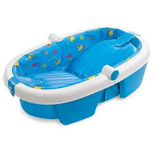 Inflatable Bathtub For Babies by Summer Infant Foldaway Baby Bath Walmart Com