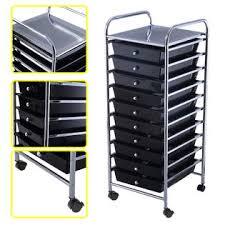 Goplus 10 Drawer Rolling Storage Cart Scrapbook Paper fice