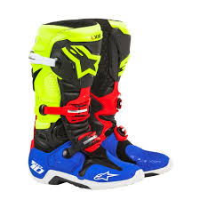 Lockable Medicine Cabinet Boots by Alpinestars Special Edition Anaheim 1 Tech 10 Boots Black Yellow