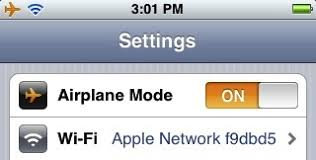 Tip You can turn on an iPhone s WiFi while in Airplane Mode