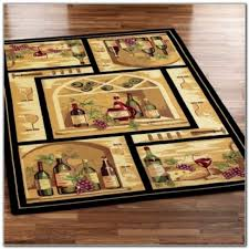 Wine Themed Kitchen Set by Grape And Wine Themed Kitchen Rugs Kitchen Set Home Decorating