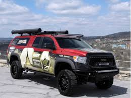 A.R.E. 2014 Fishing Team Tundra Project Truck Showcases Storage And ...