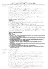 Download Technical Sales Manager Resume Sample As Image File