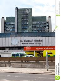 100 Lambeth Hospital St Thomas In London Editorial Image Image Of Emergency