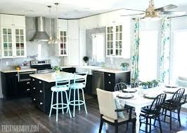 White Kitchen Curtains Lovely Black New Collection In And Frugal Fresh Best Green