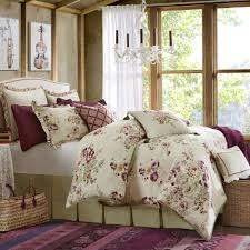 Lush Decor Serena Bedskirt by Floral Comforters Touch Of Class