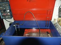 Harbor Freight Sandblast Cabinet Upgrade by Parts Washer Upgrade