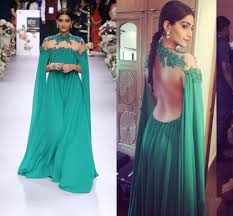 dark green arabic evening dresses 2016 high neck appliques chiffon