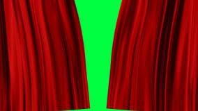 les rideaux rouges s ouvrent canal alpha banque de vidéos vidéo