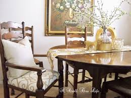 Captains Chairs Dining Room by A Stroll Thru Life Replacing Rush Seats Upholstery Tutorial