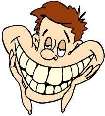 toothy smile clipart