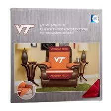 NCAA Virginia Tech Reversible Recliner Cover