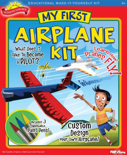 Scientific Explorer A244 My First Airplane Kit