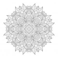 Advanced Coloring Pages Printable 18 Mandala Download