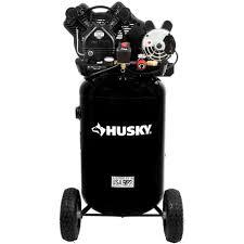 Husky 30 Gal 155 psi Ultra Quiet Portable Electric Air pressor