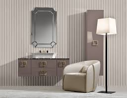 Vanity Benches For Bathroom by Bathroom Design Pictures Features Brown Leather Vanity Chairs And