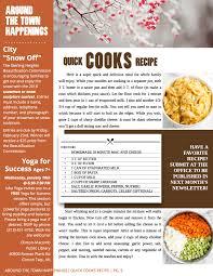 newsletter cuisine the gate community