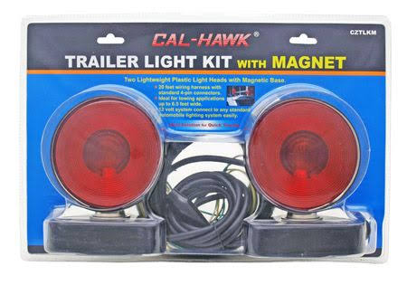 Cal Hawk Tools Trailer Light Kit - With Magnet