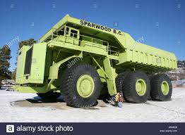 Biggest Truck Sparwood Canada Stock Photos & Biggest Truck Sparwood ...