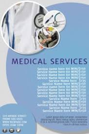 Medical Service Price List Template