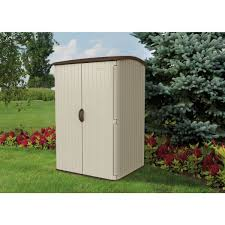 Suncast Outdoor Storage Cabinets With Doors by Suncast 100 Cu Ft Storage Shed Bms6500 Do It Best