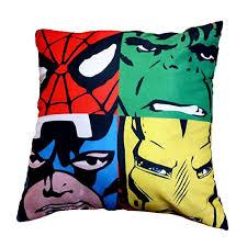 Star Wars Room Decor Uk by Character Cushions Boys U0026 Girls Bedroom Star Wars Marvel Peppa