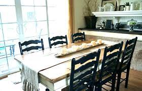 Farmhouse Dining Room Table Style