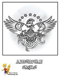 Coloring Picture Of American Eagle At YesColoring