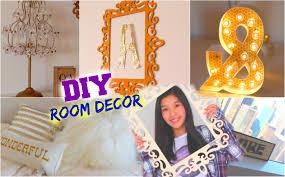 Diy Room Decor For Teens Cheap Easy Ideas Youtube Tween Bedroom Teen
