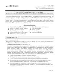 Document Controller Resume Examples Cover Letter Sample Responsibilities