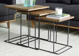 Penland's Furniture Traverse Salvage Nesting Tables (Set Of 3) Nesting Tables Set Of 2 Havsta Gray Josef Albers Tables 4 Pavilion Round Set Zib Gray Piece Oslo Retail 3 Modern Reflections In Blackgold Two Natural Pine And Grey Zoa Nesting Tables Set Of Lack Black White Contemporary Solid Wood Maitland Smith Faux Bamboo