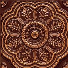 24 X 24 Inch Ceiling Tiles by Decorative Ceiling Tiles Inc Store Starship Copper Ceiling