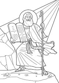 Free Printable Coloring Ten Commandments Pages 22 In Gallery Ideas With