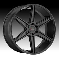 100 Rims For A Truck KMC KM712 Prism Satin Black Custom Wheels KMC Custom