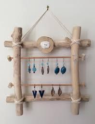 4 porte bijoux en bois flotté à fabriquer