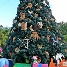Christmas Tree At Disneys Animal Kingom