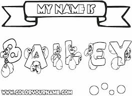 Coloring Page With Your Name Kans Pertaining To The Amazing And Attractive Make Own