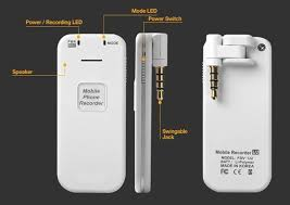 MQ U2 Cell Phone Digital Call Recorder & Spy Voice Recorder for