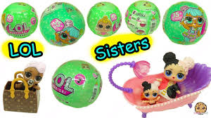 LOL Surprise Lil Sisters Series 2 !! Baby Dolls Blind Bag Color ...