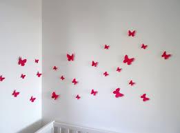 decoration chambre fille papillon étourdissant deco chambre bebe fille papillon et decoration