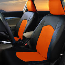 PU Leather Car Seat Covers For Auto Orange Black 5 Headrests Black ... Pu Leather Car Seat Covers For Auto Orange Black 5 Headrests Fia Leatherlite Custom Fit Sharptruckcom Truck Leather Seat Covers Truckleather Dodge Ram Mega Cab Interior Kit Lherseatscom Youtube Mercedes Sec 380 500 560 Beige Upholstery W126 12002 Ford F150 Lariat Supercrew Driver Scania 4series Eco Leather Seat Covers 22003 F250 Perforated Cover 2015 2018 Builtin Belt Compatible 0208 Nissan 350z Genuine Custom Orders