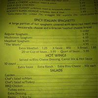 The Dining Room Jonesborough Menu by Rocky U0027s Pizza Jonesborough Johnson City Urbanspoon Zomato